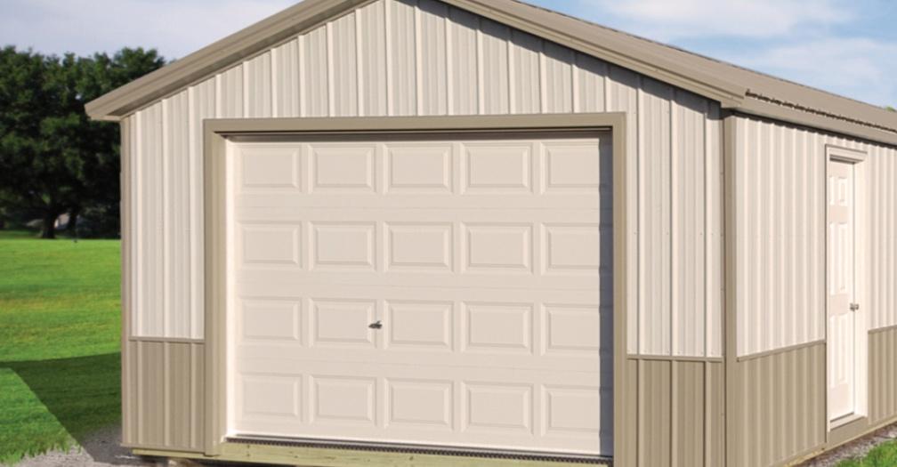 prebuilt detached garage