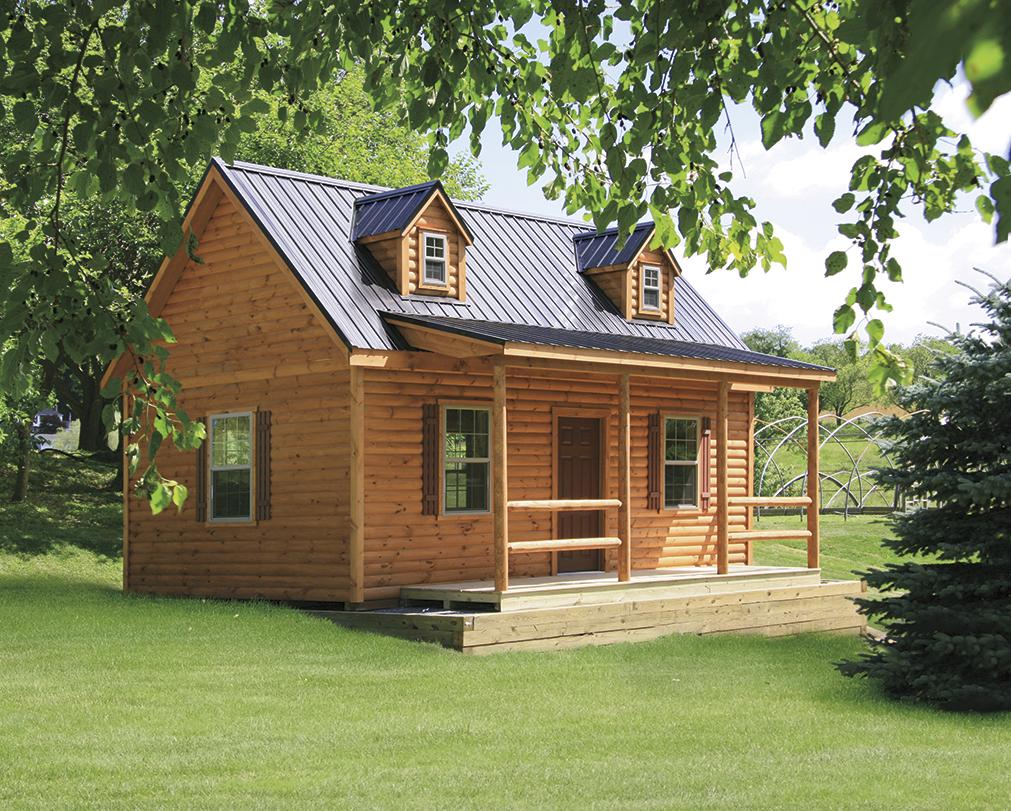 prefab cabins vs stick built cabins