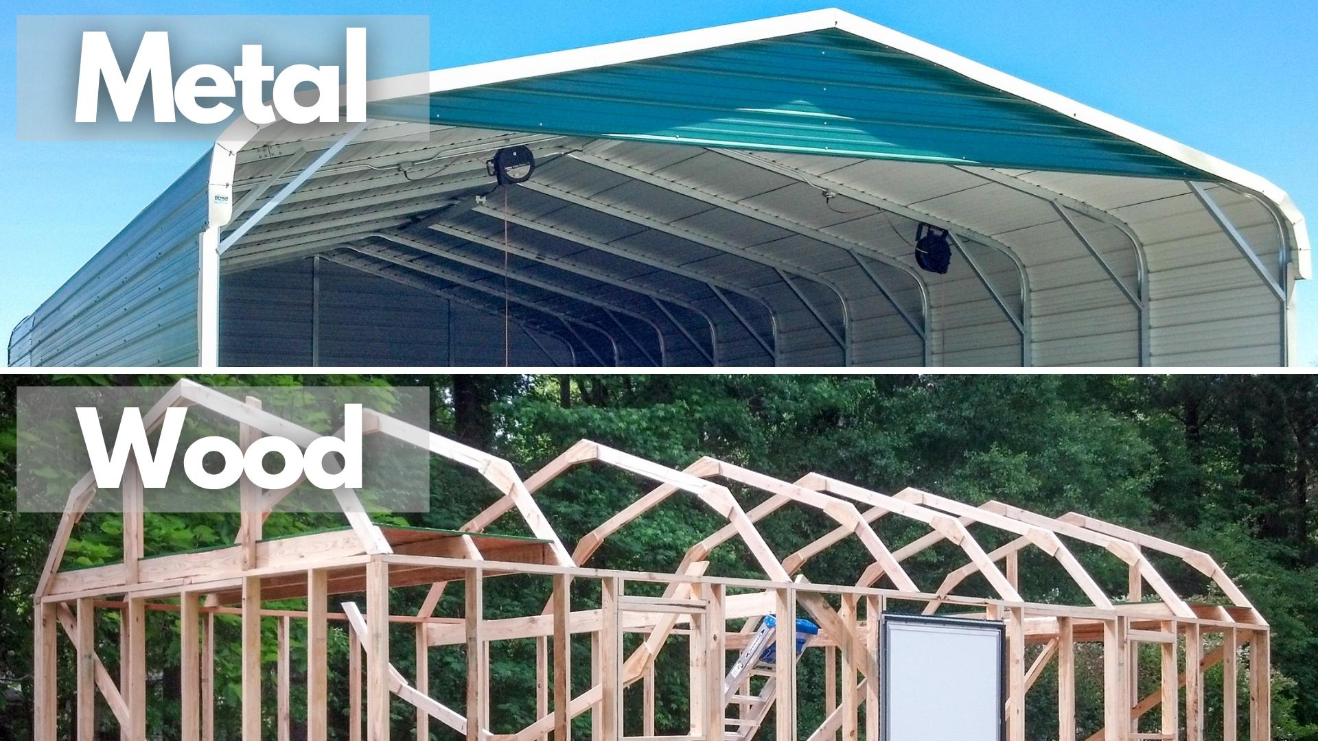 metal versus wood