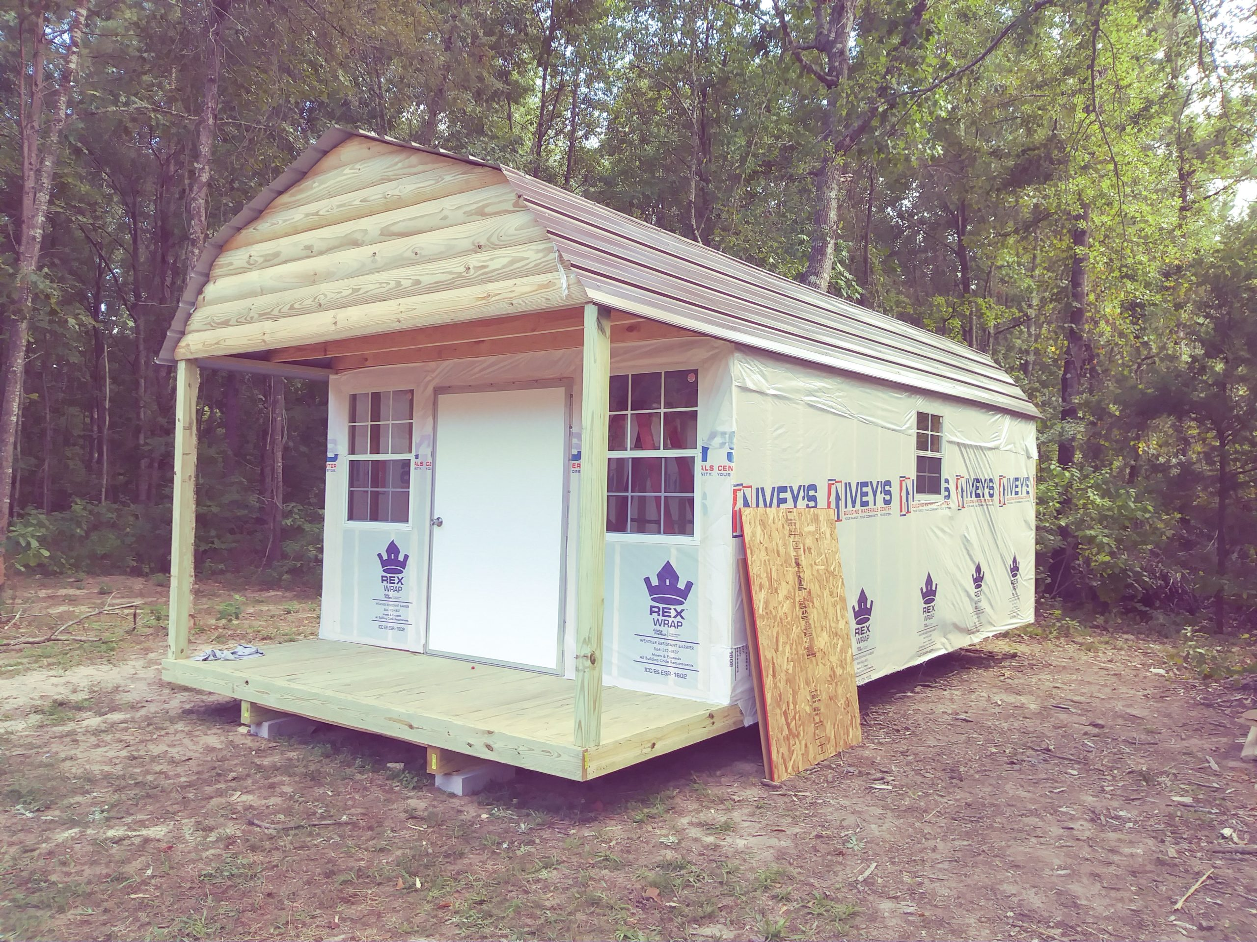 get a prefab cabin from gemco