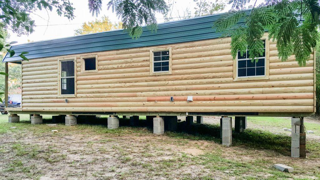 prefab cabin affordable carthage tx