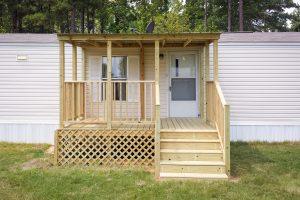 mobile home porch top quality