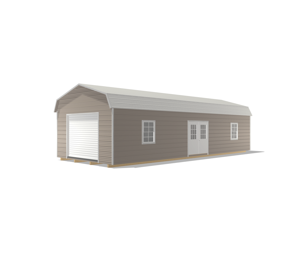 deluxe barn roomie prefab shed