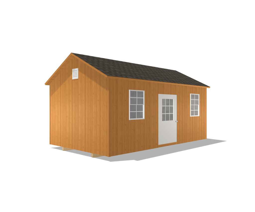 deluxe gable shed traditional